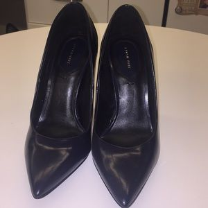 Zara Navy Blue Stilettos